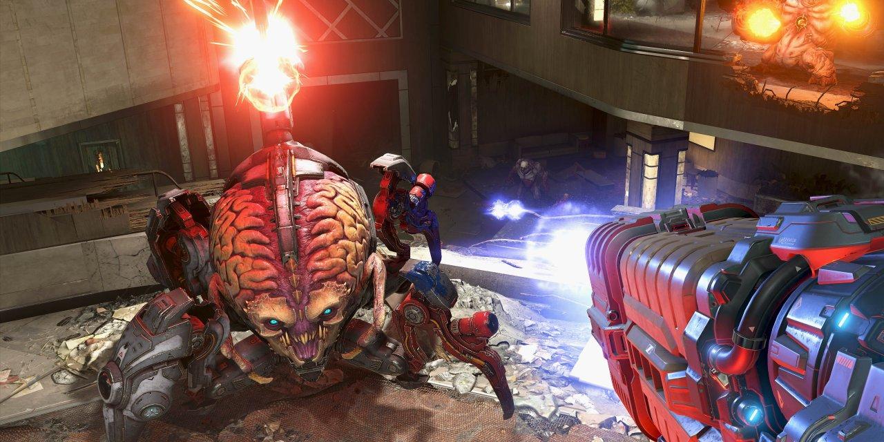 Doom Eternal rullar i 60 fps på PS4 och Xbox One