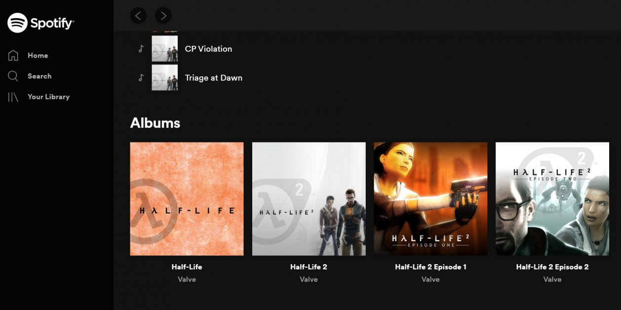 Nu kan du sp... lyssna på Half-Life