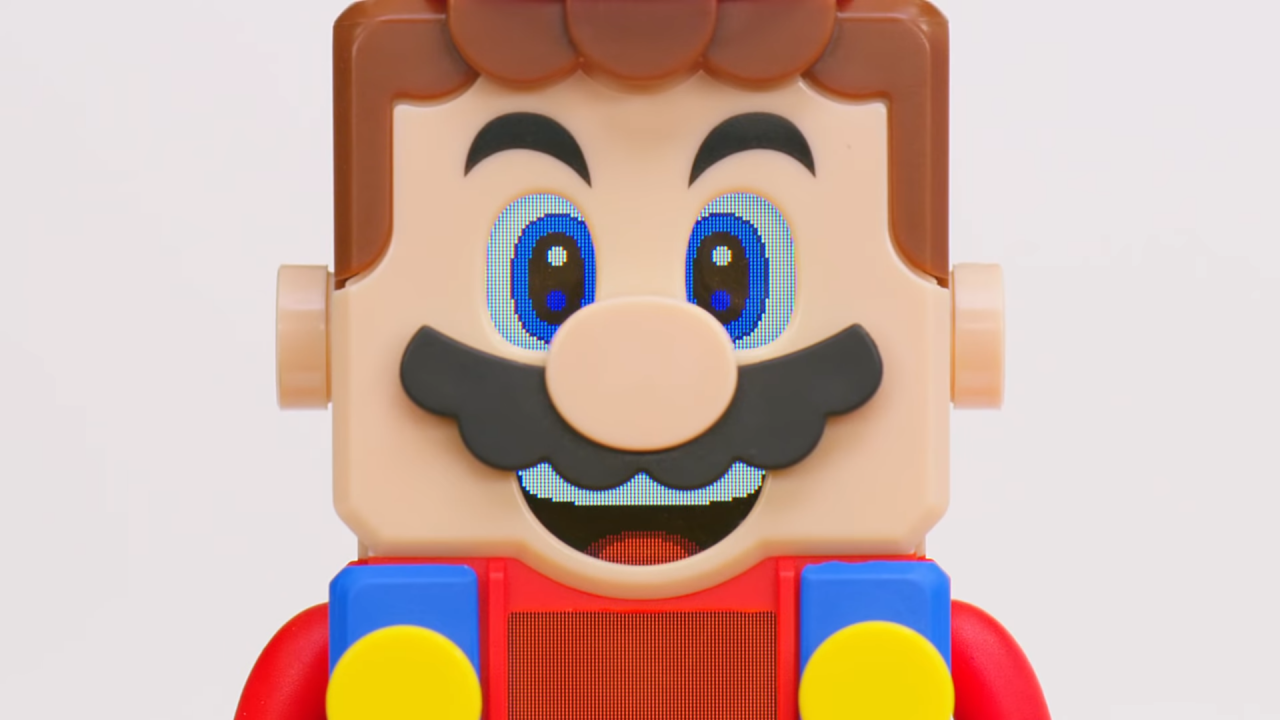 Efter teaser - nu är Lego Super Mario avtäckt