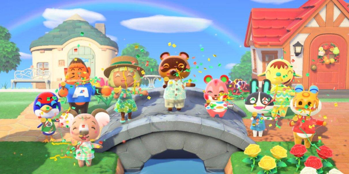 Ur vägen Mario och Zelda! Animal Crossing största Switch-releasen i Japan