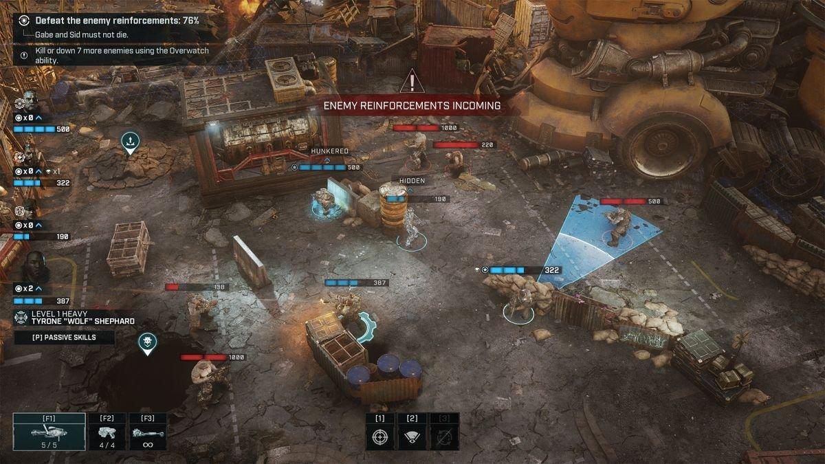 Förladda Gears Tactics nu - och kolla in släpptrailern samt systemkrav