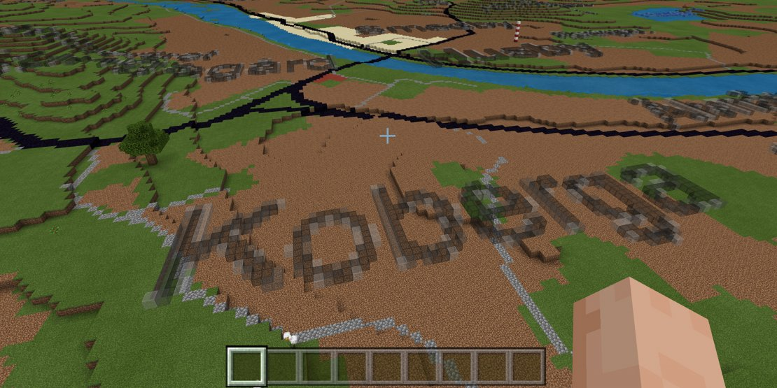 Spela Sverige i Minecraft – Lantmäteriet släpper nya kartor