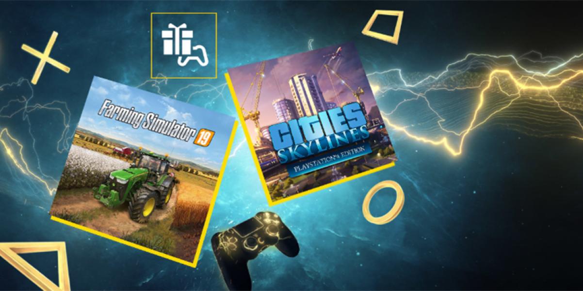 Simulera mera! Cities: Skylines och Farming Simulator är PS Plus-spel i maj