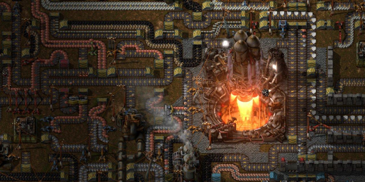 Factorio släpps skarpt en månad tidigare än tänkt För att inte krocka med Cyberpunk 2077