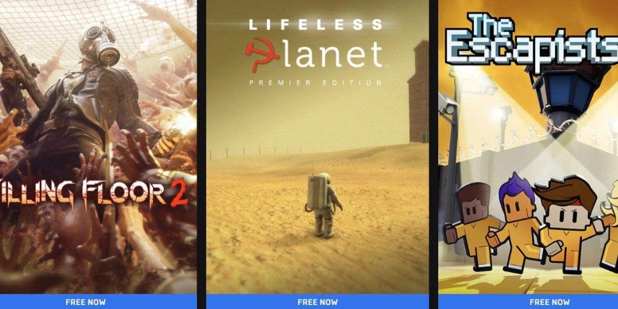 Lifeless Planet, Killing Floor 2 & The Escapists 2 är gratis hos Epic