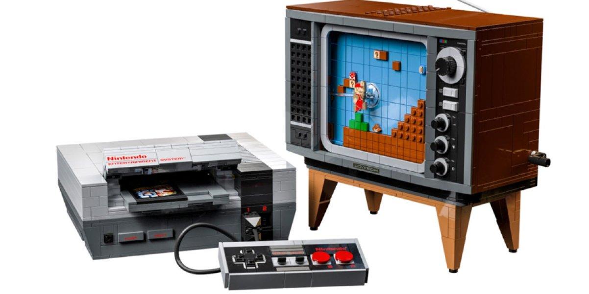 """Lego NES-läckan var äkta, """"konsolen"""" släpps 1 augusti"""