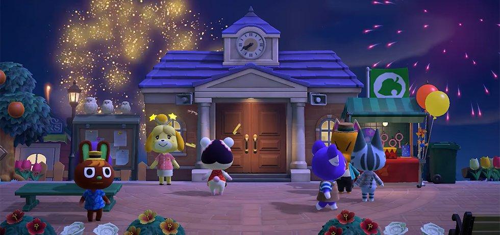 Animal Crossing till Switch får fyrverkerier, drömska resor och backup-service