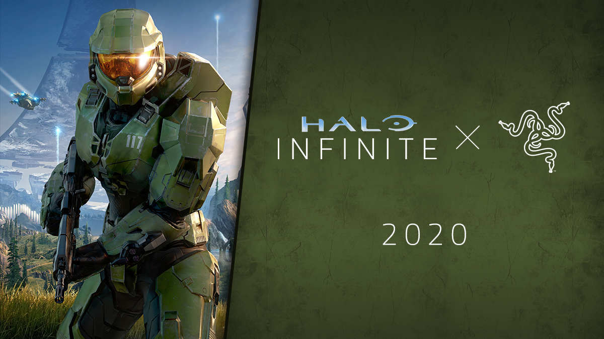 Razer + Halo = Xbox- och pc-tillbehör från Razer med Halo Infinite-tema