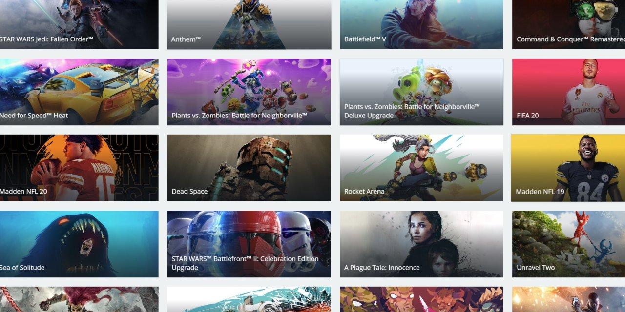EA Access och Origin Access byter namn till EA Play