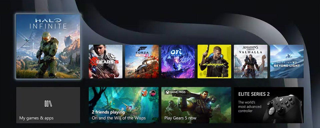 Premiär! Så här ser användargränssnittet ut i Xbox Series X