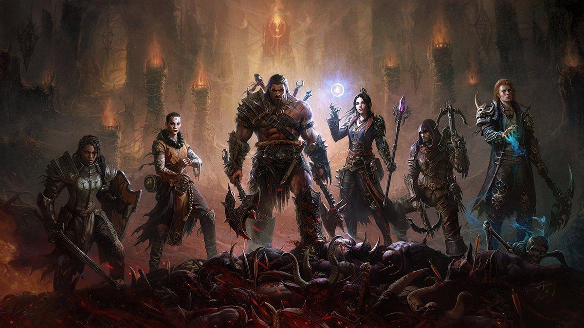 Diablo Immortal får 48-spelarräder och Crusader-klass – nu i stängd alfa
