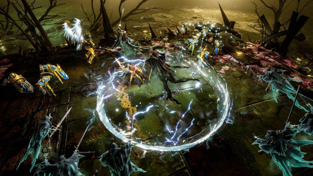 Se kommenterat gameplay från Warhammer Age of Sigmar: Storm Ground