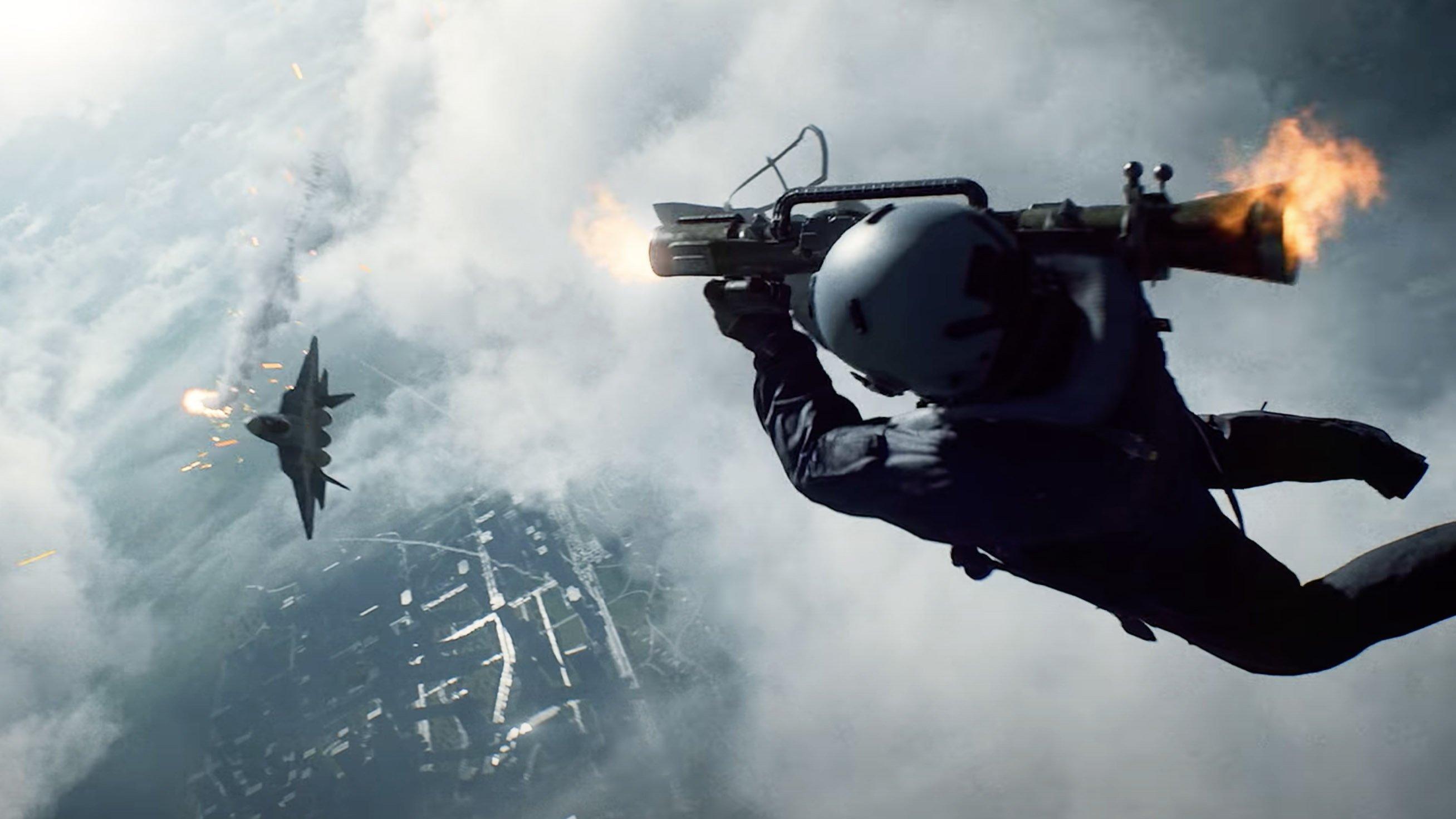 Dice förklarar hur de gjorde den ballaste scenen i Battlefield 2042-trailern