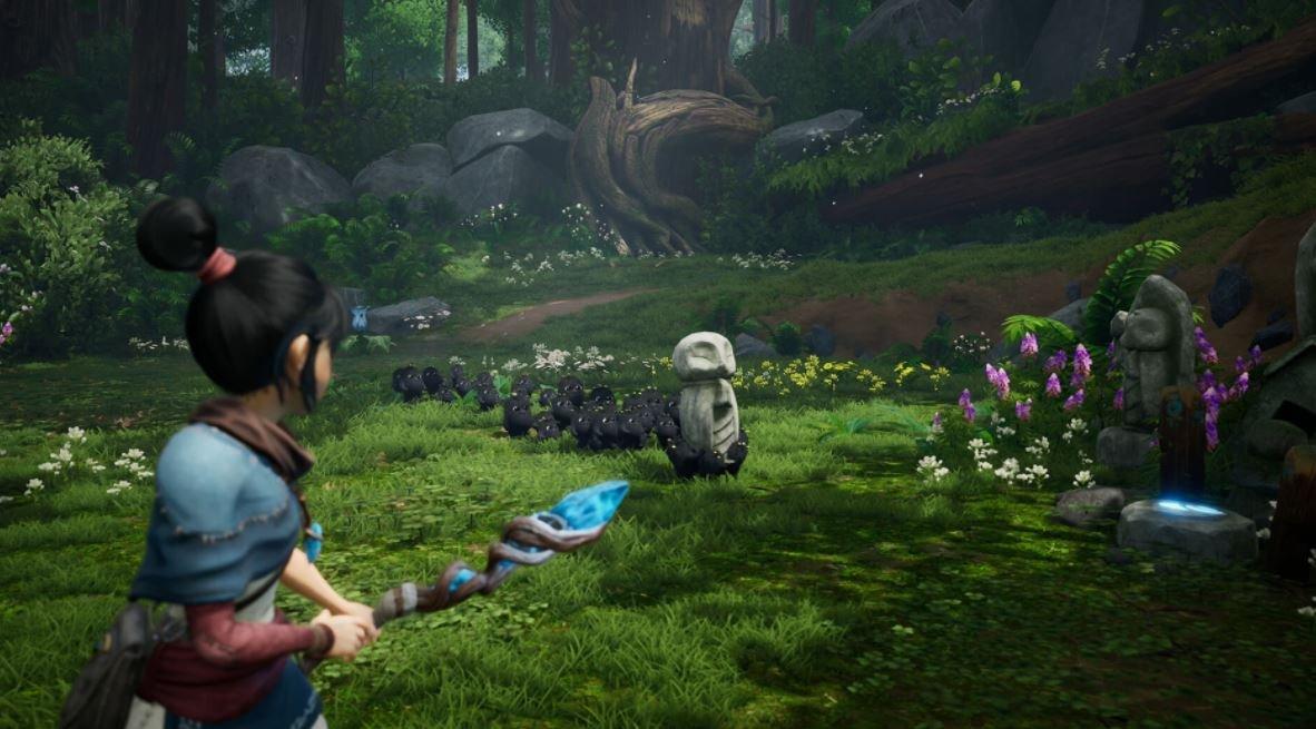 Nytt lummigt gameplay från supermysiga Kena: Bridge of Spirits