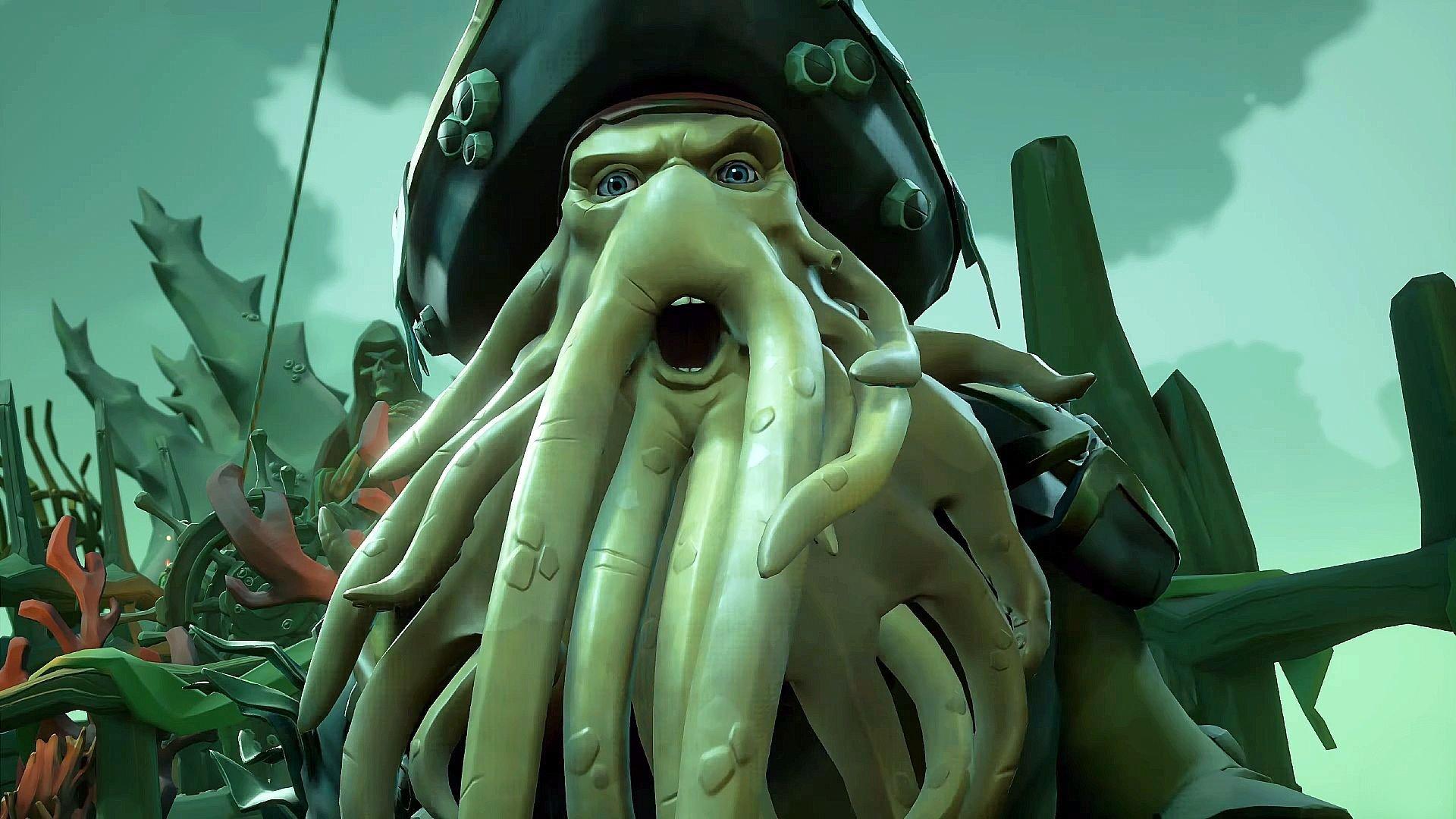 Se gameplay från Sea of Thieves med Jack Sparrow