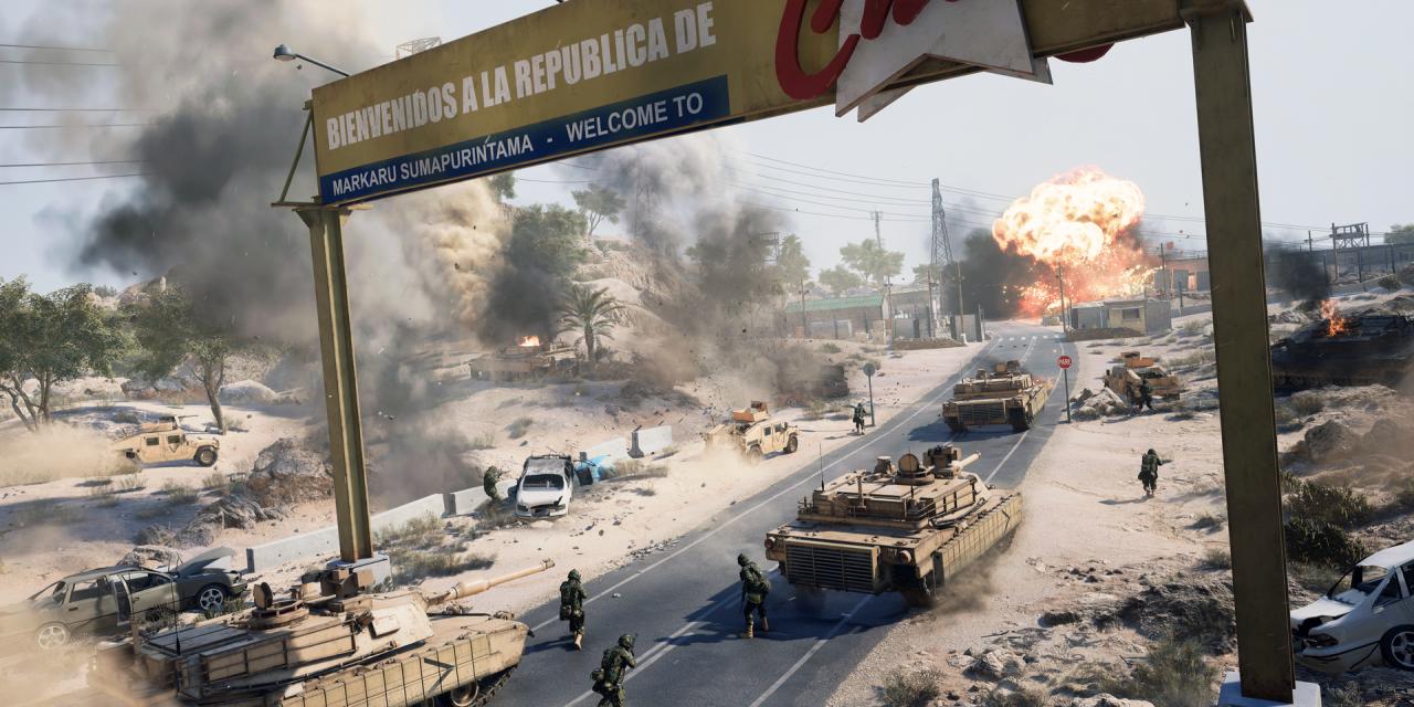 Battlefield 2042 kommer inte stödja tangentbord + mus på konsoler