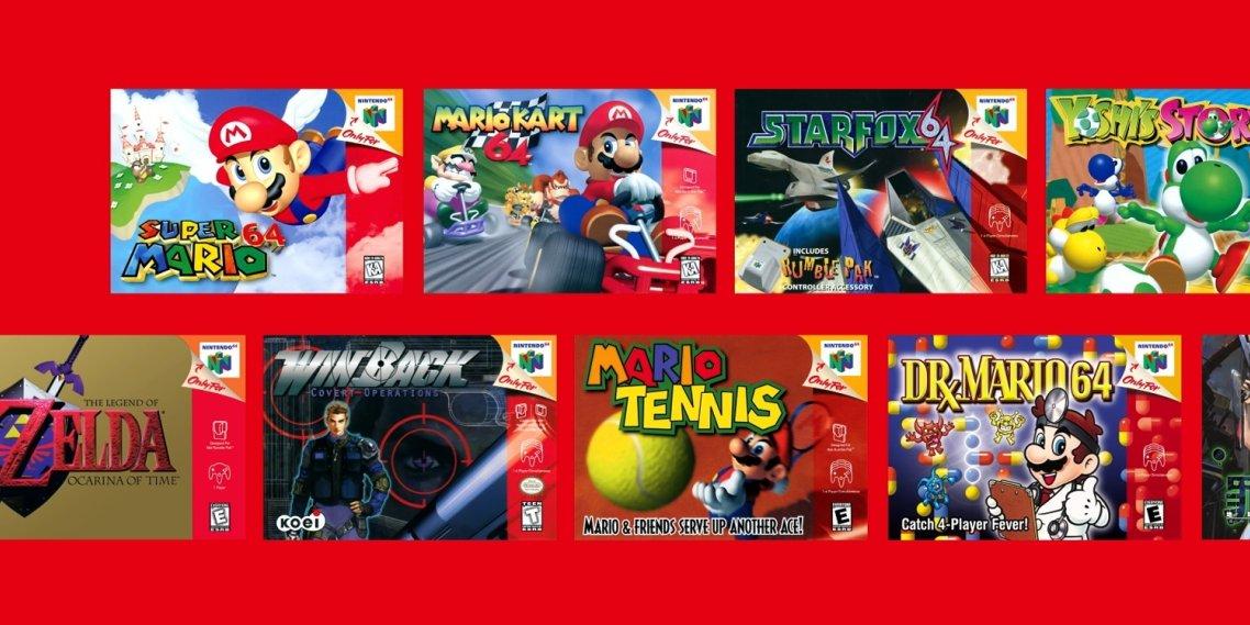 Nintendo bekräftar 60 hz för Nintendo 64-spelen på Switch i Europa