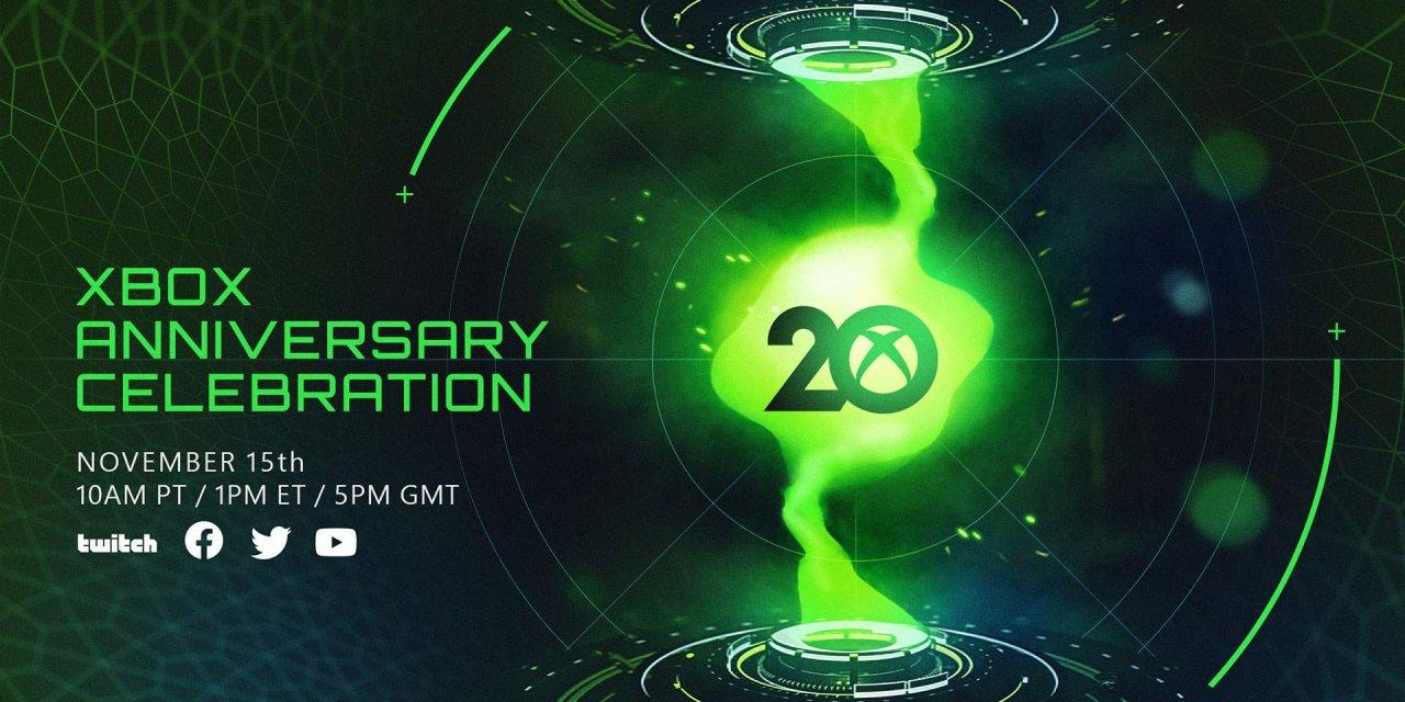 Xbox fyller 20, och firar med födelsedagsstream den 15 november